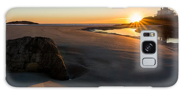 Galaxy Case featuring the photograph Sun Up Good Harbor by Michael Hubley