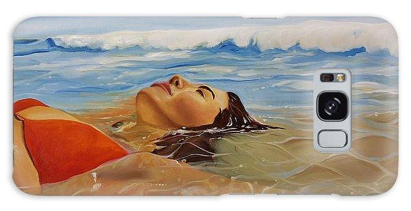 Woman Galaxy Case - Sunbather by Crimson Shults