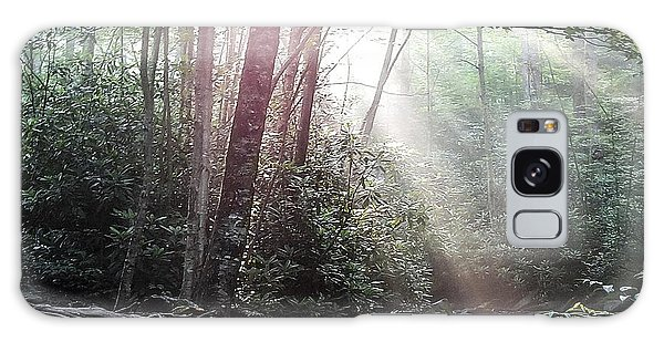 Sunbeam Streaming Into The Forest Galaxy Case