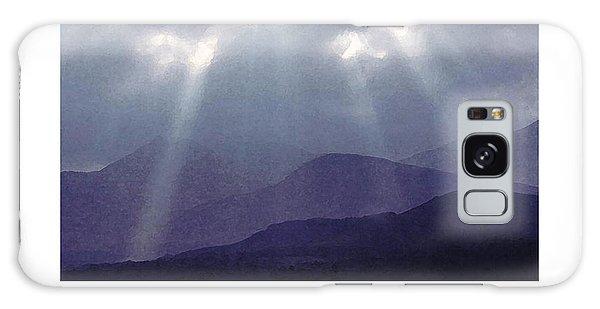 Sunbeams Over Derwent Galaxy Case