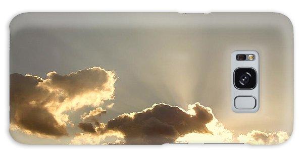 Trumpeting Triumphantly Sunrise Galaxy Case