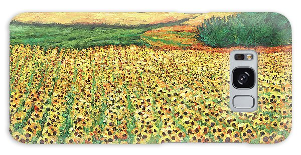Sunflower Galaxy S8 Case - Sunburst by Johnathan Harris