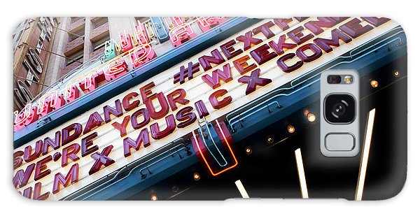 Sundance Next Fest Theatre Sign 3 Galaxy Case