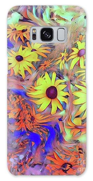 Sunday Flower Galaxy Case