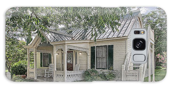 Sunday House Cottage Galaxy Case