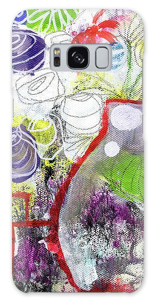 Tulip Galaxy S8 Case - Sunday Market Flowers 3- Art By Linda Woods by Linda Woods