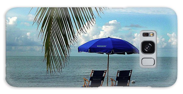 Sunday Morning At The Beach In Key West Galaxy Case by Susanne Van Hulst