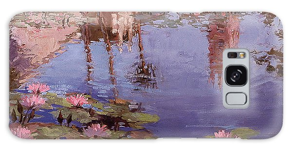 Sunday Reflections - Water Lilies Galaxy Case