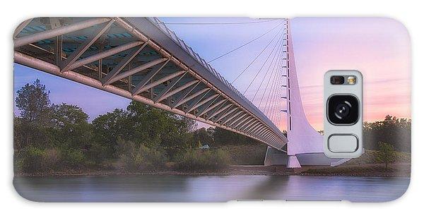 Sundial Bridge 6 Galaxy Case