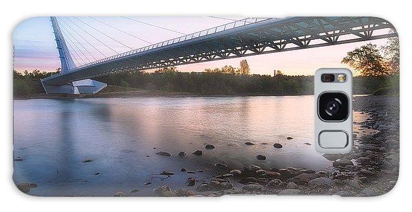 Sundial Bridge 7 Galaxy Case