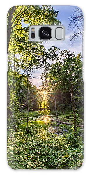 Sundown At Creekside Galaxy Case