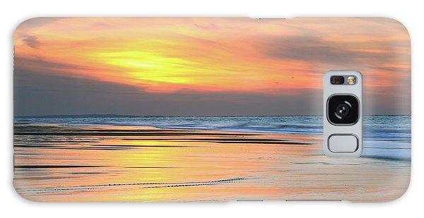 Sundown At Race Point Beach Galaxy Case by Roupen  Baker