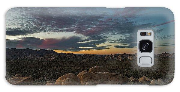 Sundown From Hilltop View Galaxy Case
