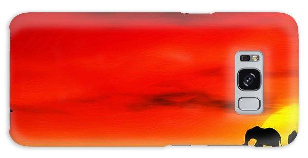 Front Galaxy Case - Sundown by John Edwards