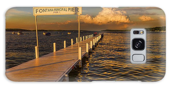 Sundown - Lake Geneva Wisconsin Galaxy Case