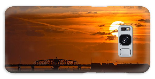 Sundown On The Charleston Coast  Galaxy Case