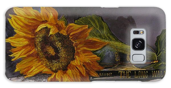 Sunflower And Book Galaxy Case