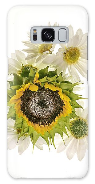 Sunflower And Daisies Galaxy Case
