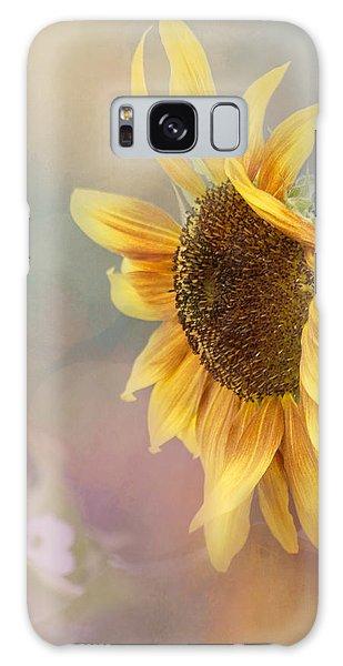 Sunflower Art - Be The Sunflower Galaxy Case