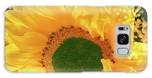 Sunflower Art Galaxy Case
