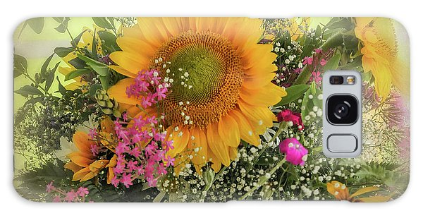 Galaxy Case featuring the photograph Sunflower Bouquet by Expressive Landscapes Fine Art Photography by Thom
