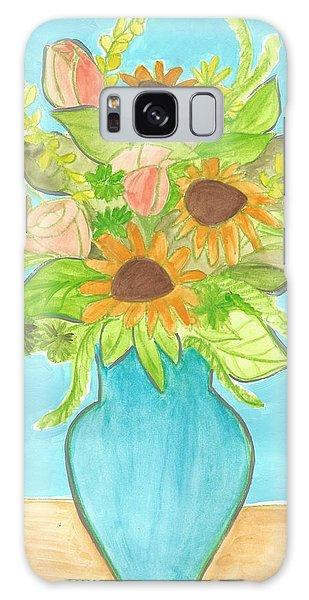 Sunflower Bouquet  Galaxy Case