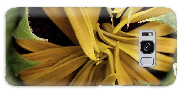 Sunflower Bud Galaxy Case