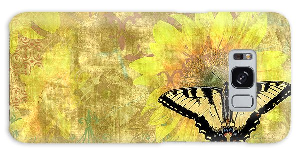 Song Bird Galaxy Case - Sunflower Butterfly Yellow Gold by JQ Licensing