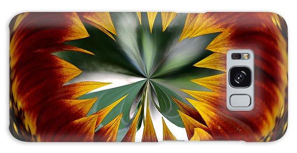 Sunflower Circle Galaxy Case