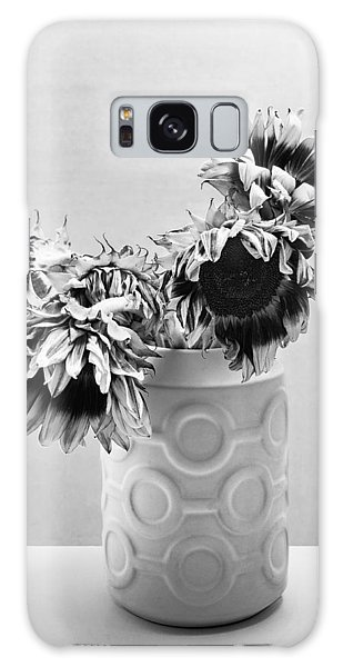 Vase Of Flowers Galaxy Case - Sunflower Circle Of Light by William Dey