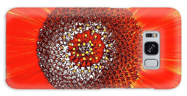 Sunflower Close Galaxy Case