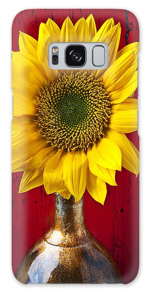 Sunflower Close Up Galaxy Case