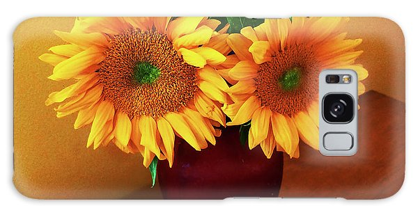 Sunflower Corner Galaxy Case