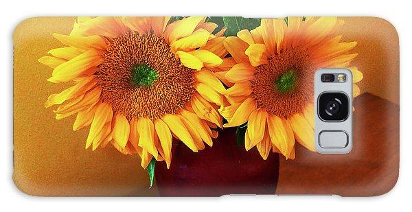 Sunflower Corner Galaxy Case
