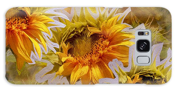 Sunflower Delight Galaxy Case