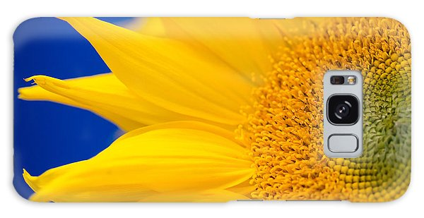 Sunflower Detail Galaxy Case