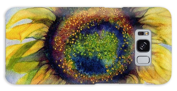 Sunflower  Emergence Galaxy Case