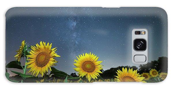 Sunflower Galaxy V Galaxy Case