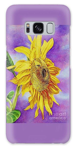Sunflower Gold Galaxy Case