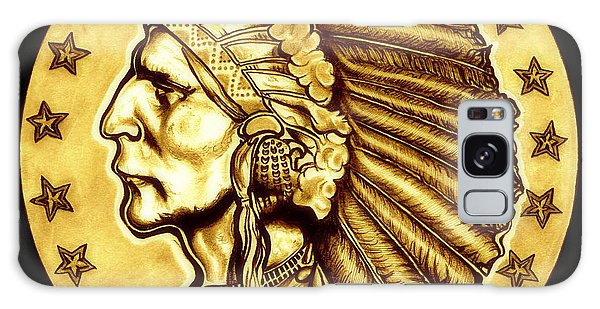 Sunflower Gold Quarter Eagle Galaxy Case