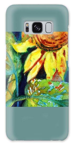 Sunflower Head 4 Galaxy Case by Kathy Braud