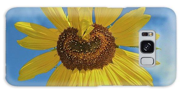 Sunflower Heart Galaxy Case