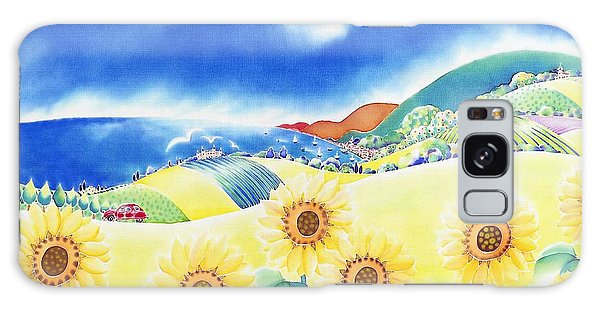 Sunflower Hills Galaxy Case
