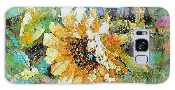 Sunflower I Galaxy Case