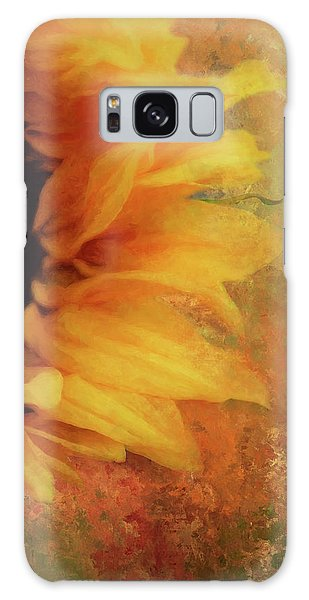 Semis Galaxy Case - Sunflower Impression by Terry Davis