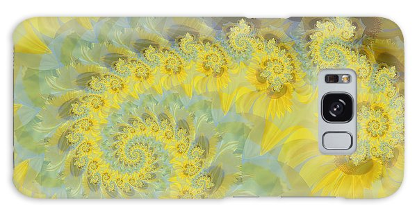 Sunflower Infused Galaxy Case