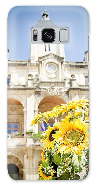 Galaxy Case featuring the photograph Sunflower by Jason Smith
