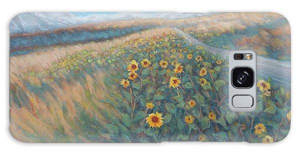 Sunflower Journey Galaxy Case