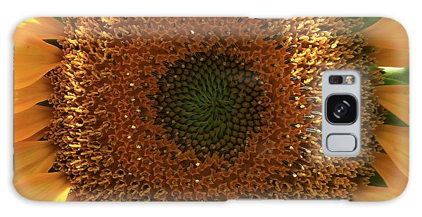 Sunflower  Galaxy Case by Marna Edwards Flavell
