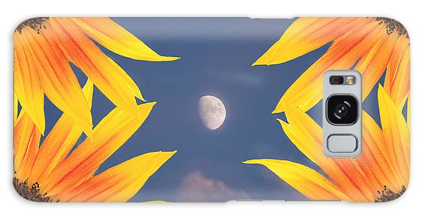 Sunflower Moon Galaxy Case